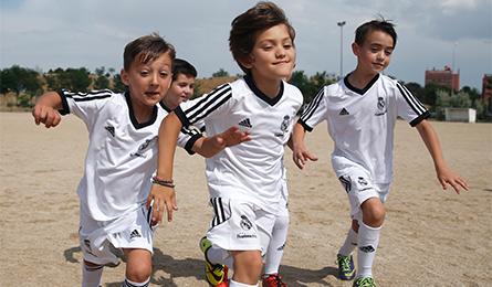 Дети россии в футбол реал мадрид